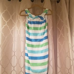 Lilly Pulitzer Henley Dress - Striped Bow Dress